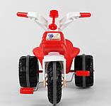 Велосипед трехколесный 07-119 Pilsan два цвета синий,красный, фото 7