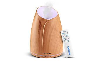Аромадиффузор зволожувач повітря Geniod з пультом керування 500 мл світле дерево (3024)