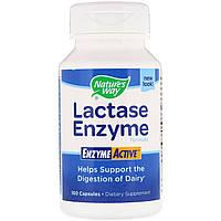 Формула Фермента Лактазы, Lactase Enzyme Formula, Nature's Way, 100 Капсул