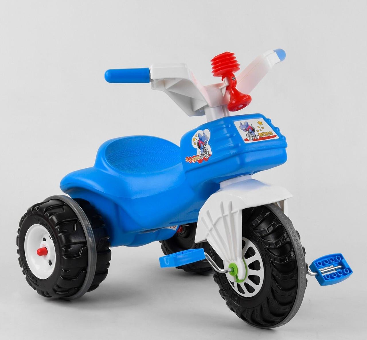 Велосипед трехколесный 07-119 Pilsan два цвета синий,красный