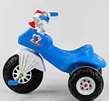 Велосипед трехколесный 07-119 Pilsan два цвета синий,красный, фото 4