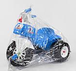 Велосипед трехколесный 07-119 Pilsan два цвета синий,красный, фото 3