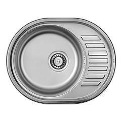 Кухонная мойка ULA 7112 ZS Satin 08 (мойка 5745 нержавейка)
