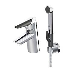 Змішувач для умивальника Oras Optima 2712F з душем до 38