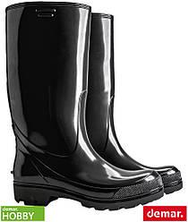 Резиновые сапоги мужские с противоскользящей подошвой (рабочая обувь DEMAR Польша) BDGRANDER B