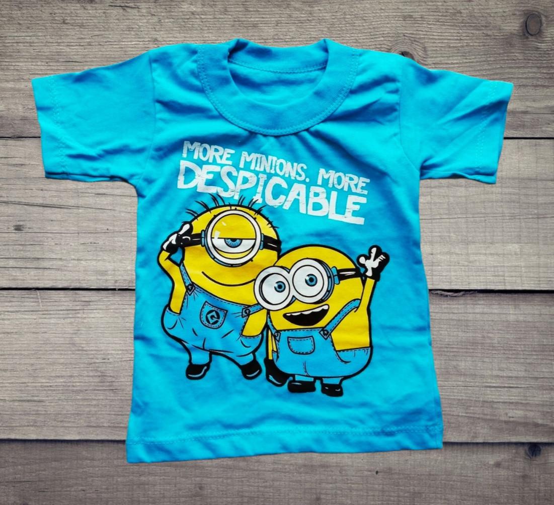 Детская футболка Миньйоны на мальчика