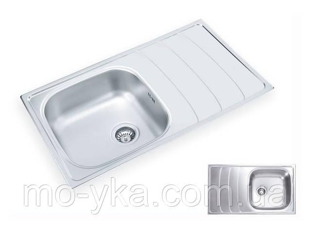 Кухонная мойка Ukinox WAVE 860.500 GT 8K декор