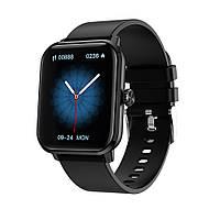 Розумні годинник Lemfo HW23 з вимірюванням тиску (Чорний), фото 1