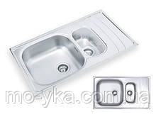 Кухонная мойка Ukinox WAVE 860.500.15 GT 8K декор