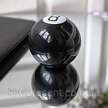 Магический шар предсказатель на русском 10 см Magic Ball 8 черный шарик с ответами шар судьбы  желаний