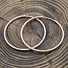 Серьги Xuping кольца 33010 размер 45х2 мм вес 6.2 г позолота РО, фото 2