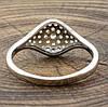 Кольцо Xuping 32061 белые фианиты позолота Белое Золото размер 17, фото 2
