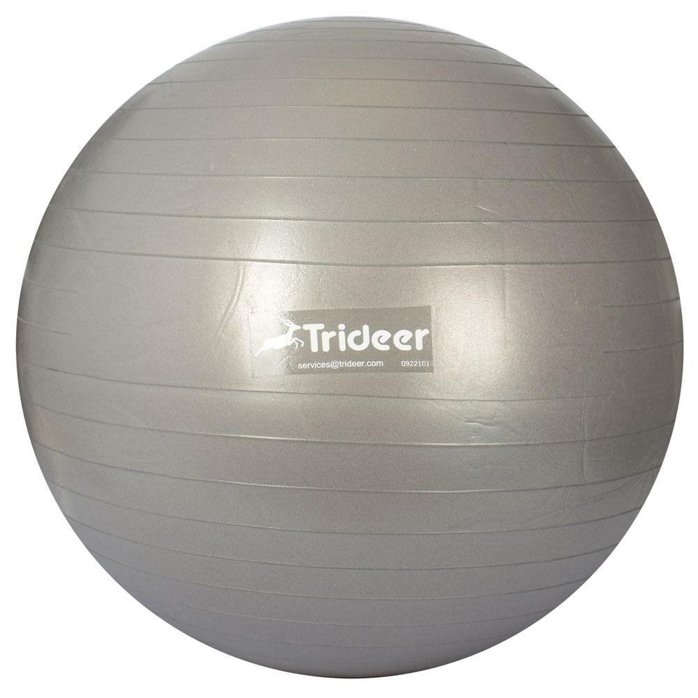 М'яч для фітнесу MS 3218-1-G Фітбол, 75см, 1600г, АВЅсатин, сірий, в кульку, 20-18-11см