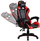 Кресло офисное компьютерное игровое Gamer Pro Jaguar Красное, фото 4
