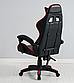 Кресло офисное компьютерное игровое Gamer Pro Jaguar Красное, фото 2