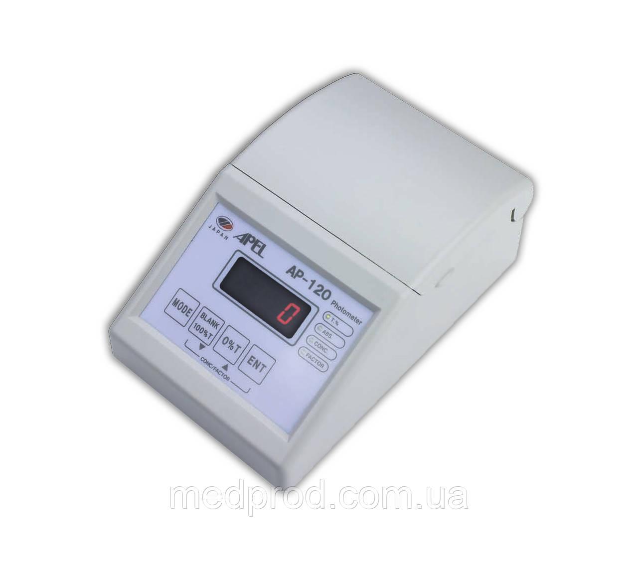 Цифровой фотоэлектроколориметр AP-120 APEL фотометр анализатор лабораторный