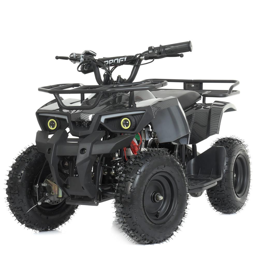 Електромобіль Квадроцикл HB-ATV800AS-19 чорний BAMBI
