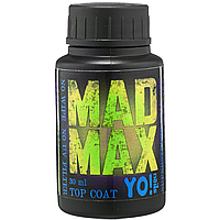 Суперстойкий топ Yo Nails Mad Max с УФ фильтром, 30 мл без липкого слоя