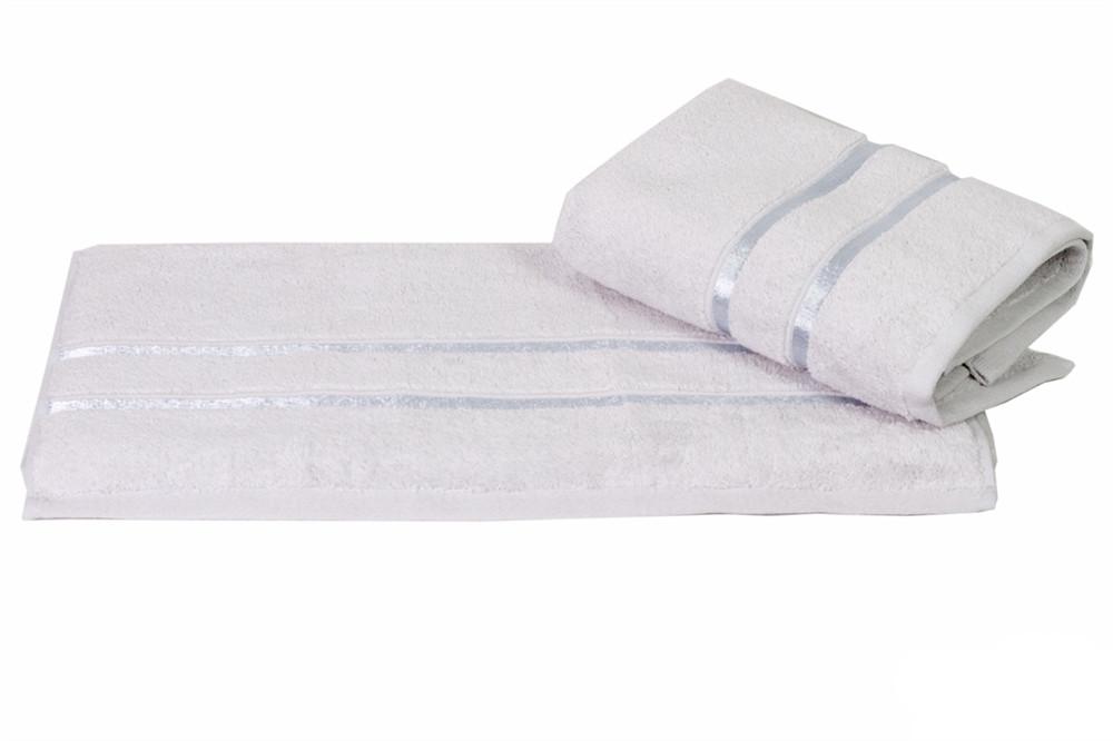 Рушник махровий HOBBY 50х90 бавовна DOLCE сіро-блакитний 1шт