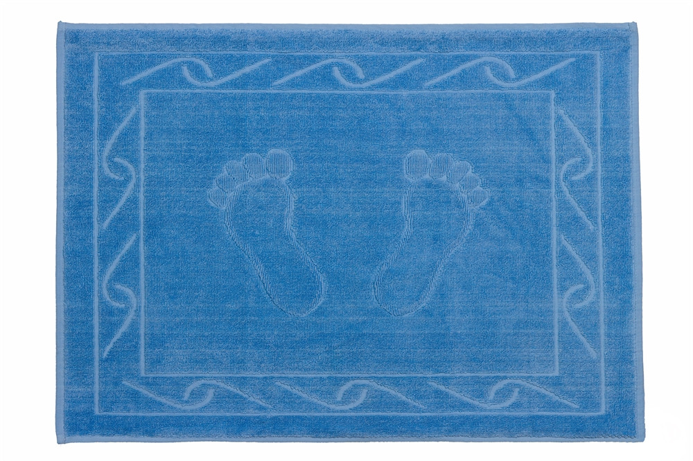 Полотенце махровое для ног HOBBY 50х70 Hayal синий 1шт