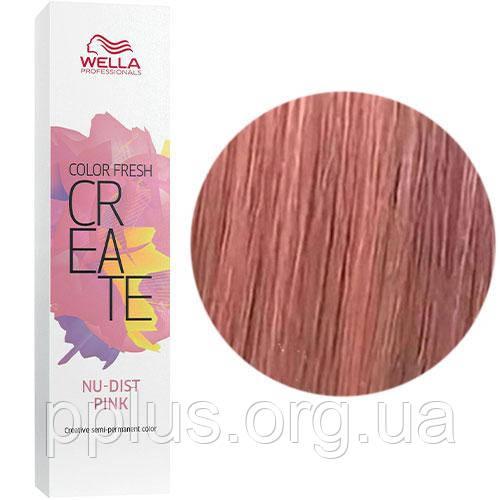 Відтіняюча фарба для волосся Wella Color Fresh Create Nudist Pink Пудровий рожевий 60 мл