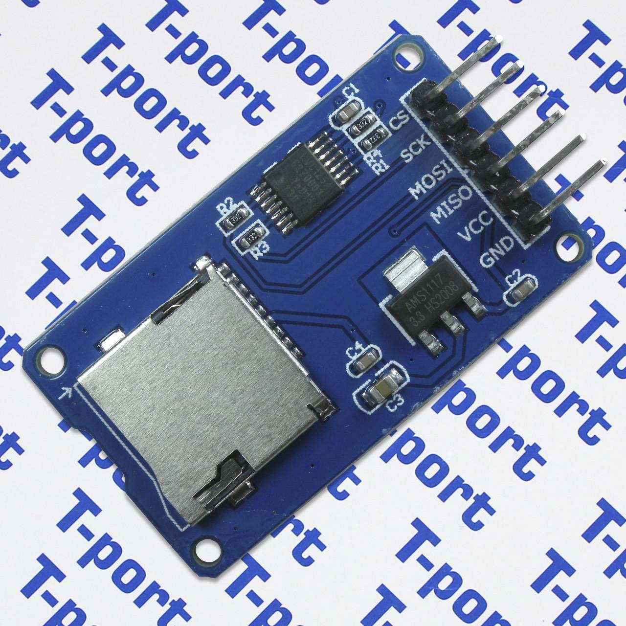 Модуль MicroSD Card Adapter для Arduino