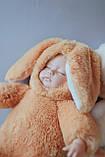 Пупс мягкотелый сплюшка плюшевый, фото 4