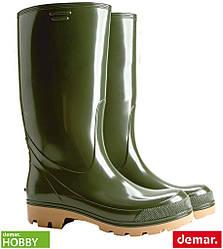 Гумові чоботи чоловічі з протиковзкою підошвою (робоче взуття DEMAR Польща) BDGRANDER Z