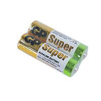 Батарейка пальчиковая, AA, 1,5 v, Super Alkaline, GP