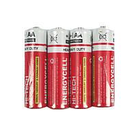 Батарейка пальчиковая, AА, 1,5 v, Energycell