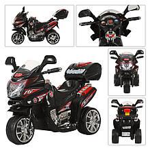 Мотоцикл M 0565  мот12W,акк6V/4,5A,3км/ч,3-6лет,черн,в кор,59,5-37-35,5см
