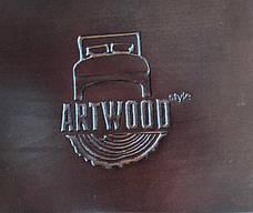 Ліжко дерев'яне з м'яким узголів'ям Верона , ArtWood колір горіх, фото 3