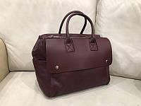 Жіноча шкіряна сумка жіноча шоппер через плече натуральної шкіри Італія Люкс, фото 1