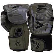 Перчатки боксерские PU на липучке VENUM BO-2533 10 унции