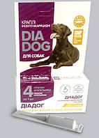"Капли инсекто -акарицидные для собак""ДиаДог"""