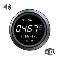 Термогигрометр с датчиком измерения CO2 с WiFi SBT group PTH-8 (PTH-8-12)