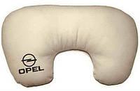 "Подушка рогалик ""Opel"", фото 1"