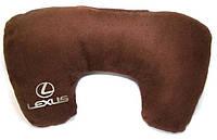 "Подушка рогалик ""Lexus"", фото 1"