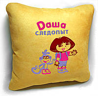 "Дитяча подушка № 04 ""Даша Слідопит"", фото 1"