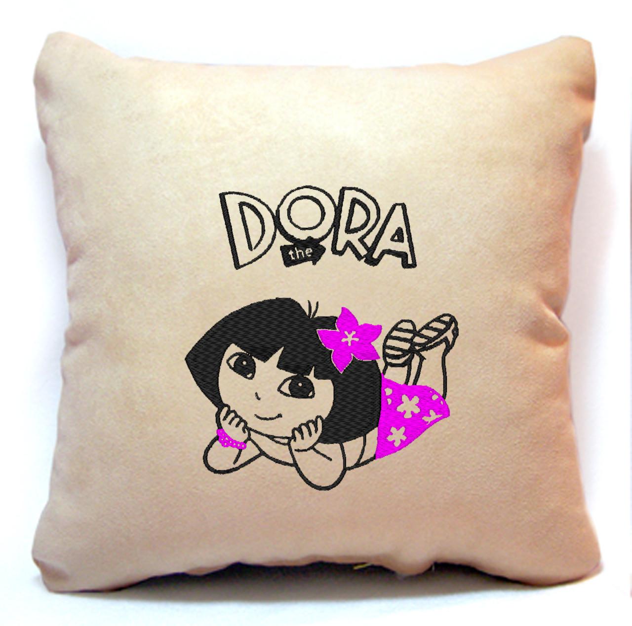 """Дитяча подушка № 05 """"Dora"""""""