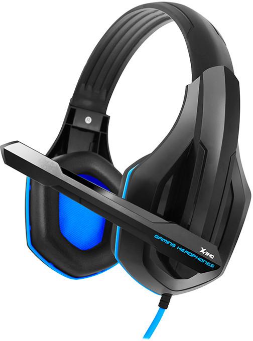 Навушники Gemix X-340 Black-blue
