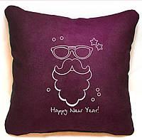 """Новогодняя подушка """"Happy New Year"""" 38, фото 1"""
