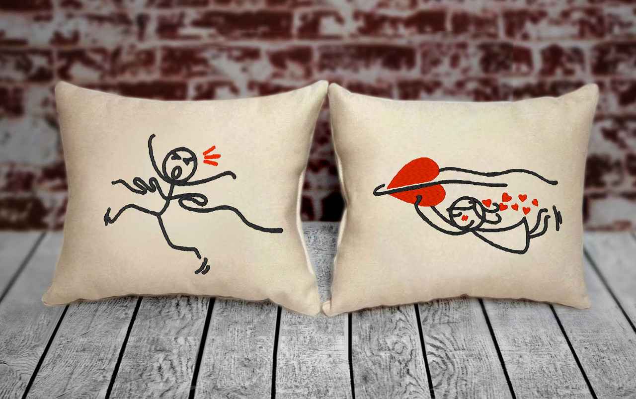 "Набір з двох подушок №91 ""Рятівна любов"""