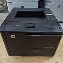 Принтер  HP LaserJet Pro 400 M401dne  пробіг 66 тис. з Європи