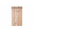 Вешалка для одежды ВО-05 открытая настенная /РТВ-МЕБЕЛЬ