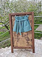 Летние шорты женские с пояском 44-46р, фото 1