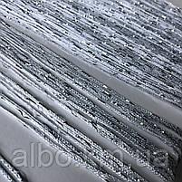 Нитки штори на кухню з люрексом 300x280 cm Сіро-білий (NL-311), фото 8