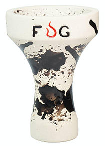 Чаша Fog Assassin Semi-Glazed Черные кляксы