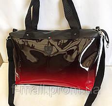 Жіноча дорожня міська спортивна сумка штучна шкіра