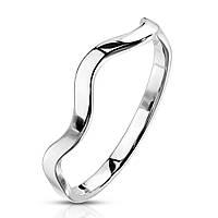 "Женское кольцо ""Волна"" от Spikes, р. 15.5,16.5, 17.5, 18"